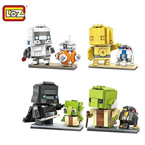 Star Wars Building Set of 4