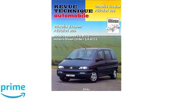 Rta 576.3 peugeot 806-Citroën evasion 95/98: Amazon.es: Etai: Libros en idiomas extranjeros