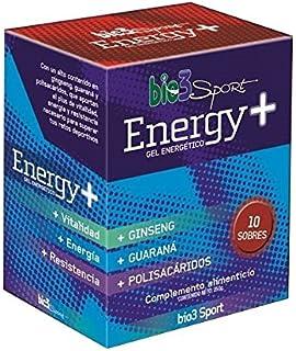 bio3 Energy + Gel Energético - Ginseng, Guaraná, Polisacáridos superiores, Vitaminas C,…