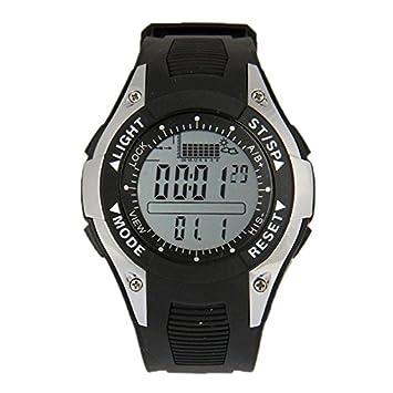 Relojes Hermosos, Reloj Barómetro de Pesca Digital con Altímetro / Termómetro / Pronóstico del Tiempo