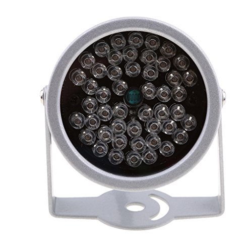 Dovewill 20M Solid Metal Housing Dome illuminator light IR Infrared 48 LED Night Vision For Security CCTV Camera by Dovewill