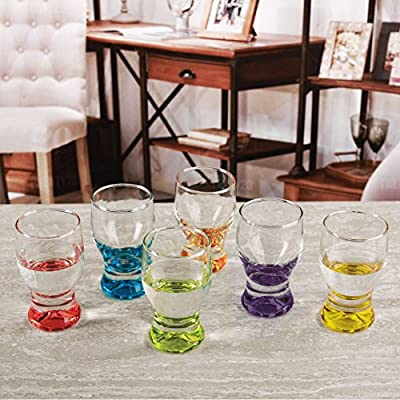 Circleware Best Selling Shot Glasses - Home Farmhouse Décor, Drinkware, Glassware Drinking Glasses Sets of 4-6-8-10-12, 16 and More!