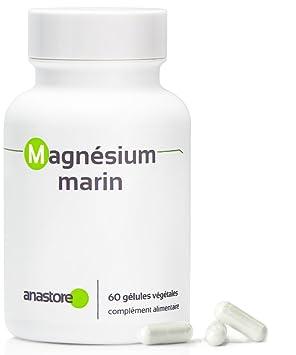 MAGNESIO MARINO * Contenido superior al 58.8 % en magnesio elemental * 300 mg / 60