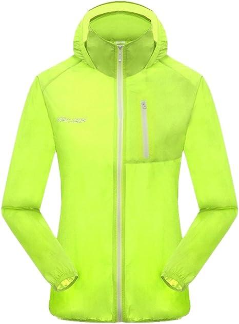 Verano senderismo seriesel transpirable camiseta protección UV de secado rápido camisas Caza Trekking mujeres hombres verdes cangrejo hombres dulces verde XL: Amazon.es: Deportes y aire libre