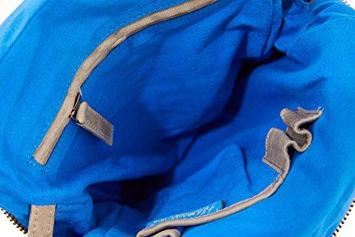 Feldmoser 1414 New York bolso bandolera con 2 asas piel 20 cm