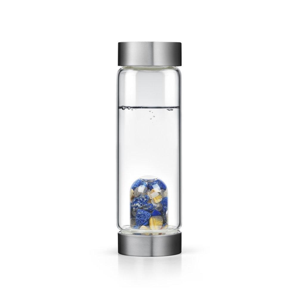 インスピレーションgem-waterボトルby VitaJuwel W / Freeカリフォルニアホワイトセージバンドル 16.9 fl oz B07BH7QJX6  1