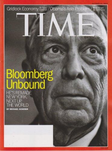 Time October 21, 2013 Michael Bloomberg Unbound; Gridlock Economy; Obama's Asia Problem; Bridget Jones Returns