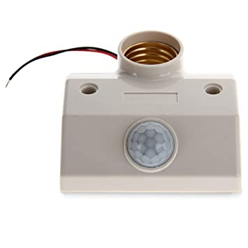 COLEMETER® Interruptor Sensor Detector de Movimiento Infrarrojos para Lámpara