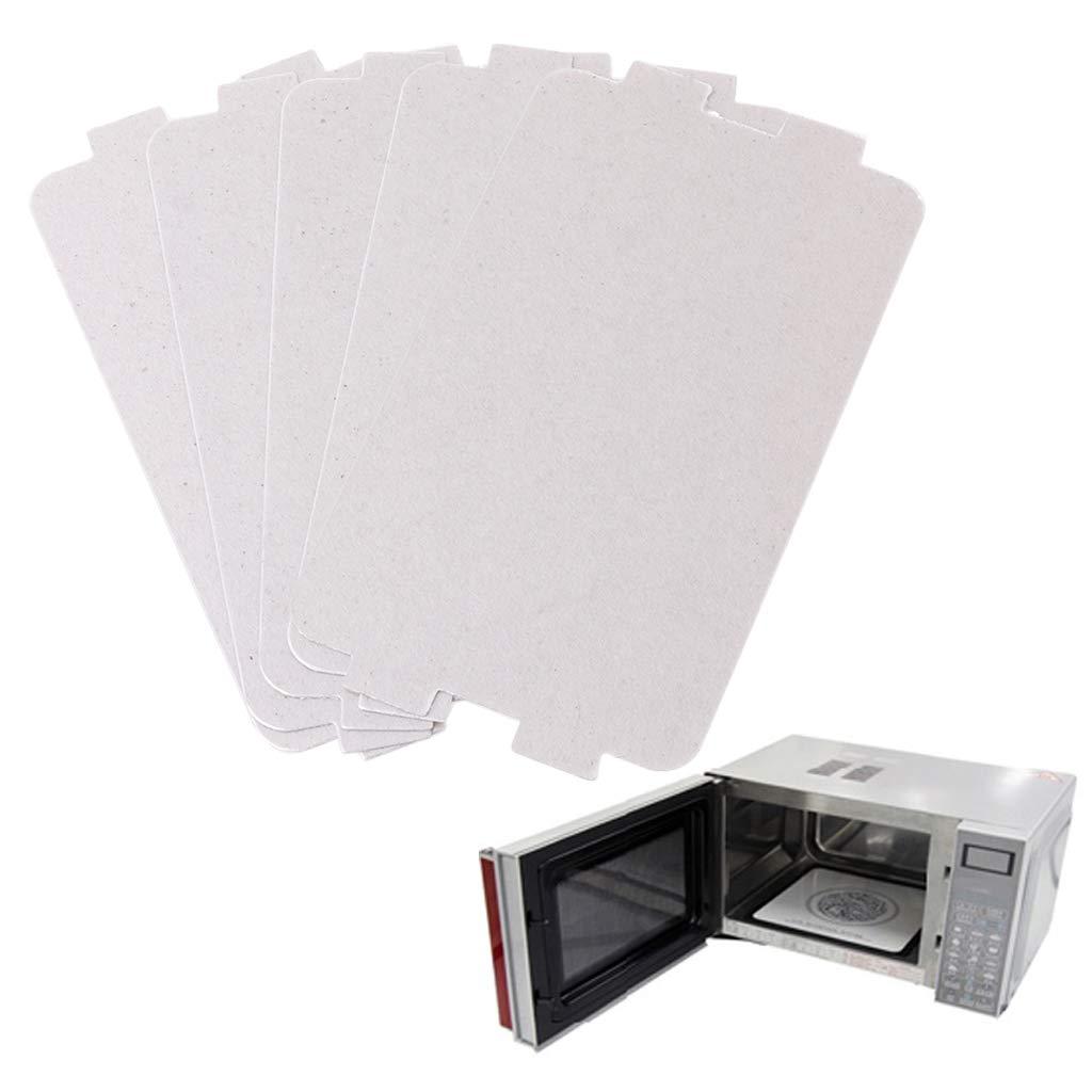 Midea - Juego de 5 placas de repuesto para microondas (107 x 64 mm ...