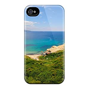Awesome Beautiful Cove Flip Case With Fashion Design For Iphone 4/4s by supermalls