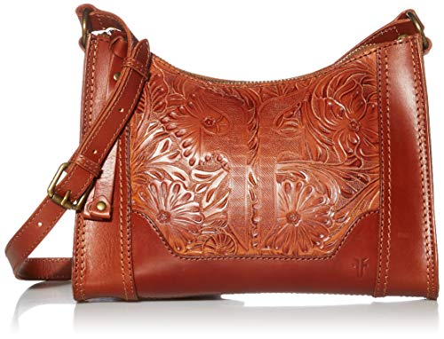 Frye Melissa Artisan Zip Leather Crossbody