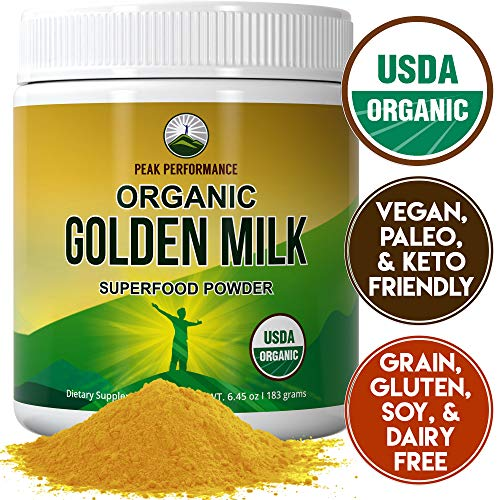 Organic Golden Milk Powder Performance product image