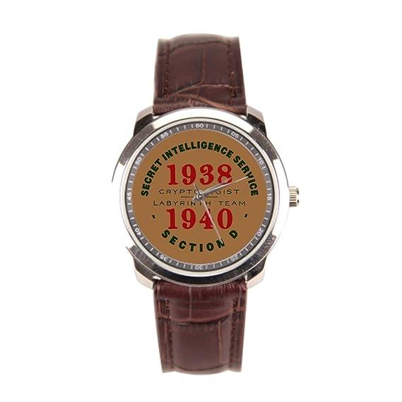 Muñeca relojes Marcas Criptografía Enigma nuevo reloj de pulsera: Amazon.es: Relojes