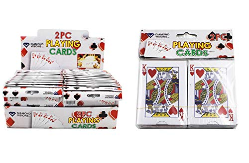 DollarItemDirect Playing Cards (2 PK), Case of 96