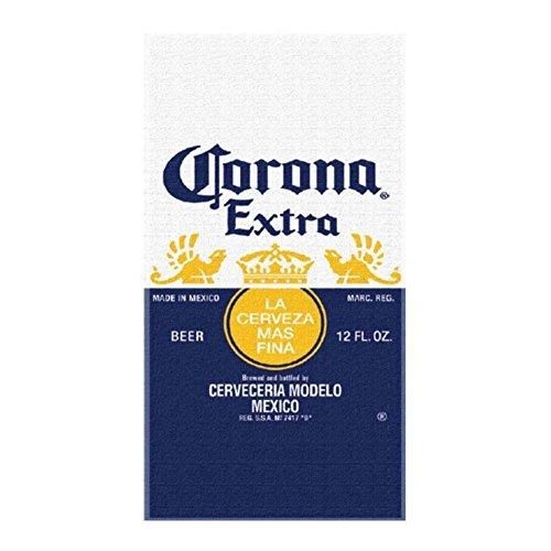 Corona Extra Label Beach Towel product image