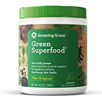 Amazing Grass Green Superfood Original All Natural Drink Powder (8.5 ounce)