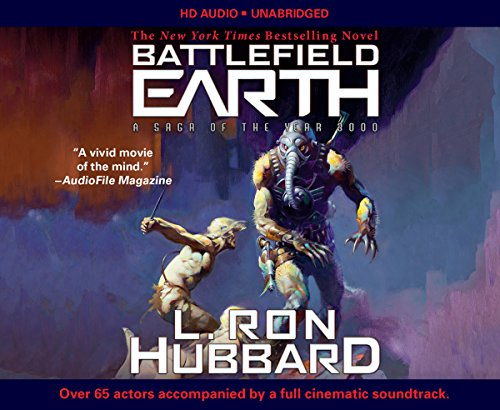 Battlefield Earth: Post-Apocalyptic Sci-Fi and New York Times Bestseller cover