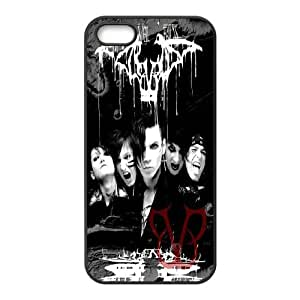 Black Veil Brides-BVB ROCK music band series protective case cover For Apple Iphone 5 5S Cases SB4557022