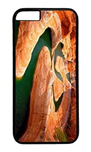 MOKSHOP Adorable Glen Canyon Utah Hard Case Protective Shell Cell Phone Cover For Apple Iphone 6 Plus (5.5 Inch) - PC Black