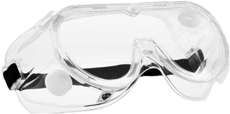 2 Piezas De Gafas De Seguridad, Gafas, Antisalpicaduras, Viento, Arena, Polvo Y Neblina, Cubierta De Gafas Protectoras Transparentes Y Cerradas, Protección para Los Ojos