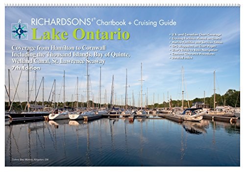 Richardsons Chart Books - Lake Ontario Richardsons' Chartbook + Cruising Guide 7th Edition