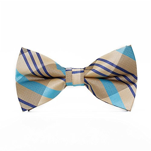 Tie Tie Dating Men Bow Fashion Bow SKNSM Khaki Bowtie Casual Party Striped Ball RPHqUT