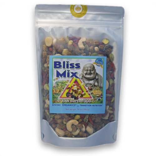 Divine Organics Bliss Mix (14 oz) (Bio Protein Bar Peanut Butter)