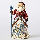 Jim Shore for Enesco Jim Shore Heartwood Creek Norwegian Santa Figurine 4053705