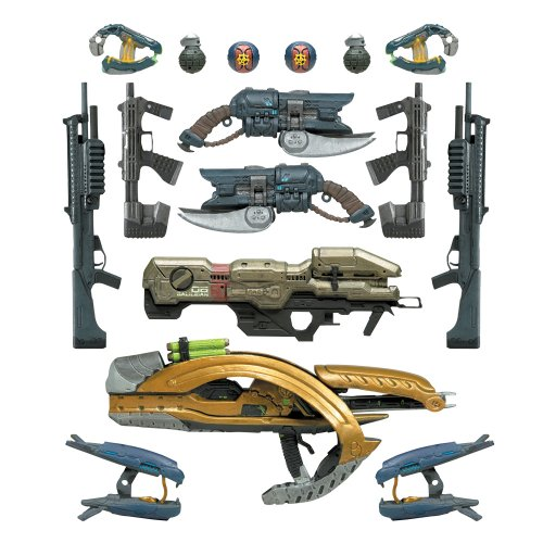 - McFarlane Toys Halo 2009 Wave 2 - Series 5 Equipment Edition Halo Weapons Pack