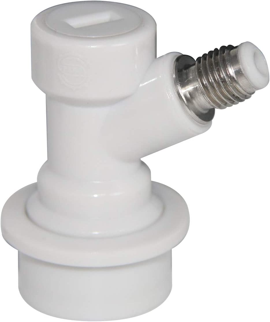 """Cornelius//Corny Beer Kegs. Gas Ball Lock Disconnect//Connector with 1//4/"""" Barbed"""