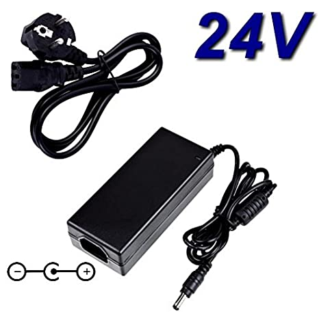 Top cargador® Adaptador alimentación cargador 24 V para impresora ...