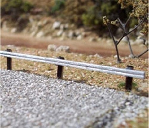 (Osborn Models HO * HIGHWAY GUARDRAILS * 250 Scale Feet * EZ Assembly Kit * New #RRA1008)