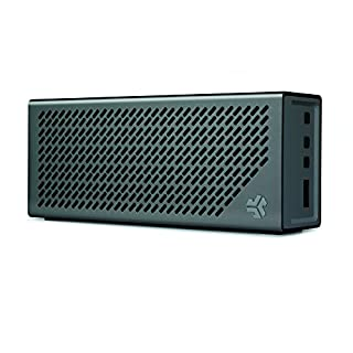 The Crasher by JLab Loud Portable Bluetooth Stereo Speaker with 18 Hour Battery -Midnight Black / Gunmetal (B00A44RLRW) | Amazon Products