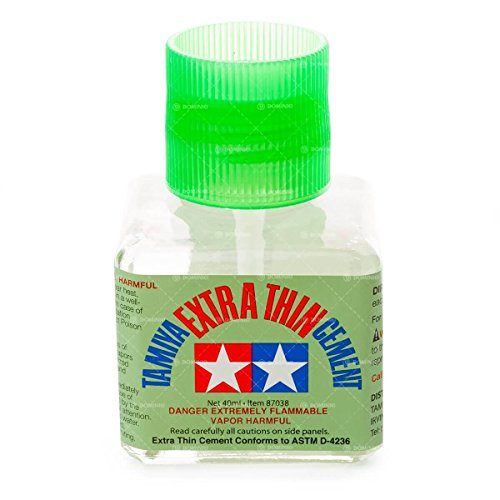 Model Glue - Tamiya 87038 Extra Thin Cement Glue Fine Tip 40ml