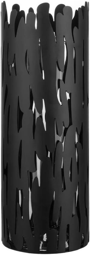 Alessi Bm05 Barkvase Vase en Acier Inoxydable 18//10 Brillant avec R/écipient en Verre