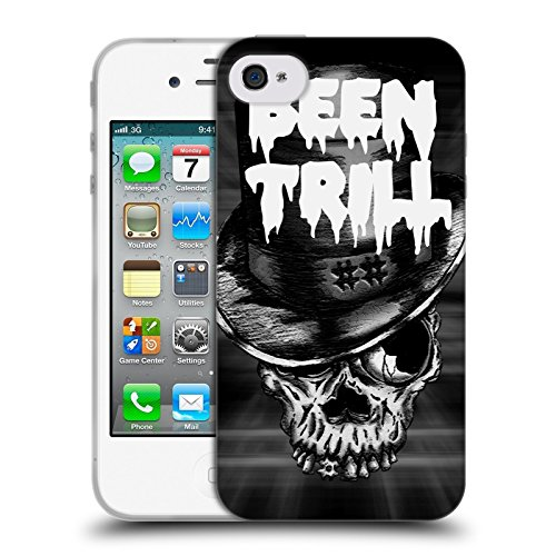 Official Been Trill Le Sir Mixed Soft Gel Case for Apple iPhone 4 / 4S