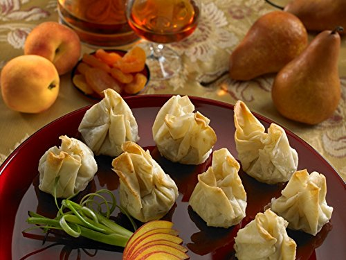 Duck with Apricot in Phyllo Beggar's Purse - Gourmet Frozen Appetizers