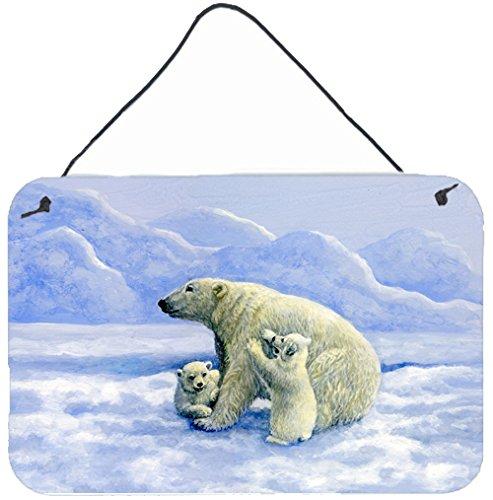 UPC 638508180544, Caroline's Treasures BDBA0428DS812 Polar Bears by Daphne Baxter Wall or Door Hanging Prints BDBA0428DS812,Multicolor,8HX12W