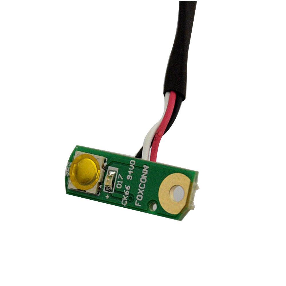 Eathtek Replacement POWER BOARD BUTTON SIDE TRIM DD0FM8PB000 for DELL STUDIO 1555 1557 1558 series by Eathtek (Image #3)