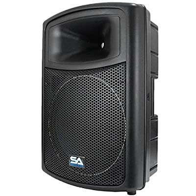 Seismic Audio PWS-15 Powered PA/DJ 15-Inch 600W Molded Speaker from Seismic Audio Speakers, Inc.