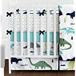 Sweet-Jojo-Designs-9-Piece-Navy-Blue-and-Green-Modern-Dinosaur-Baby-Boys-or-Girls-Crib-Bedding-Set-with-Bumper