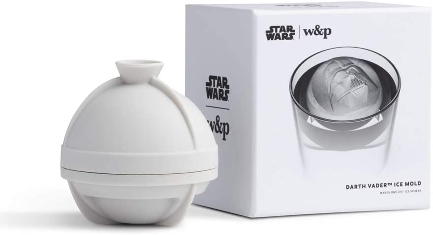 W&P Single Sphere Mold Ice Tray, One Size, Darth Vader