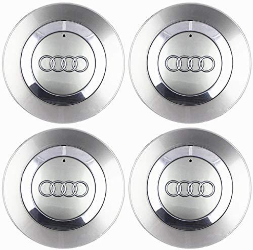 "FidgetFidget 4 OEM Wheel Center Cap 8E0601165 for Audi 2002-2007 Audi A4 B6 16"" 5 Spoke Wheel"