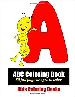 ABC Coloring Book: Marti Jo\'s Coloring: 9781496023766: Amazon.com ...