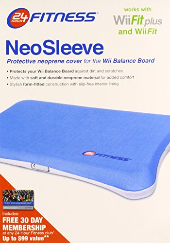 Wii 24 Hour Fitness Neo Sleeve - Blue