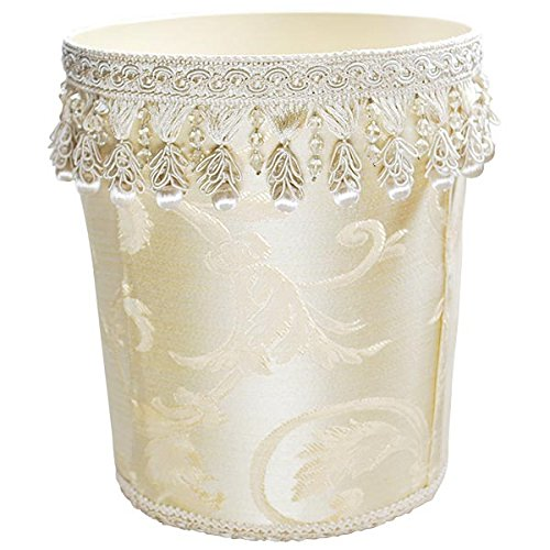 Decorative Waste Basket in Scrolls (Wastebasket Scroll)