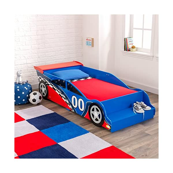 Race Car Toddler Bed 4