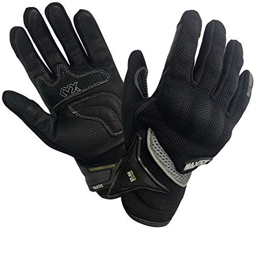 MAXAX Moped Motocross Motorrad Handschuhe atmungsaktiv taktile Handschuh 1KP – Leder und Textil – Bequem und hochwertig…