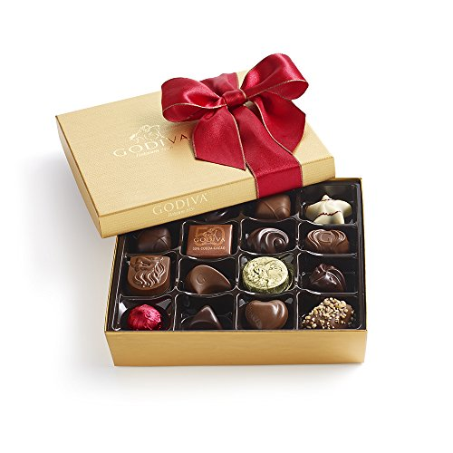 Godiva Chocolatier 19 Piece Holiday Ballotin, 7.1 Ounce