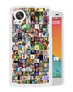Personalized Google Nexus 5 With Disney World White Customized Photo Design Google Nexus 5 Phone Case